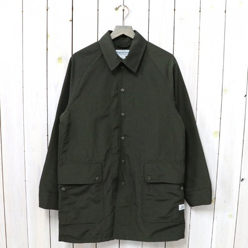 SASSAFRAS『FALL LEAF COAT +(60/40)』(OLIVE)