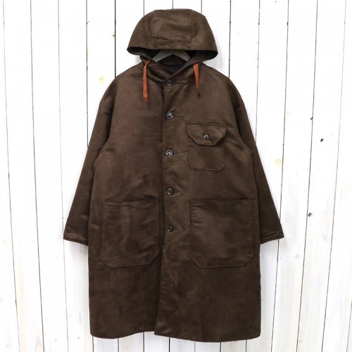 the conspires『Mil Coat Reversible』(brown)