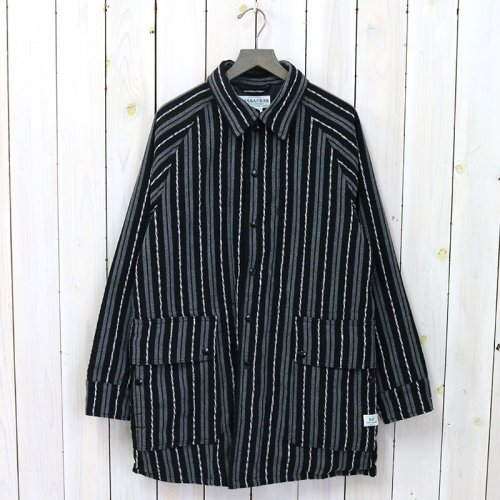 SASSAFRAS『FALL LEAF COAT +(BLANKET)』(STRIPE)