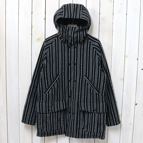 SASSAFRAS『BLOWER BUD COAT(BLANKET)』(STRIPE)