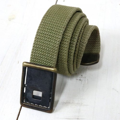 MILITARY USED『U.S.NAVY WEAVING BELT』(OLIVE)