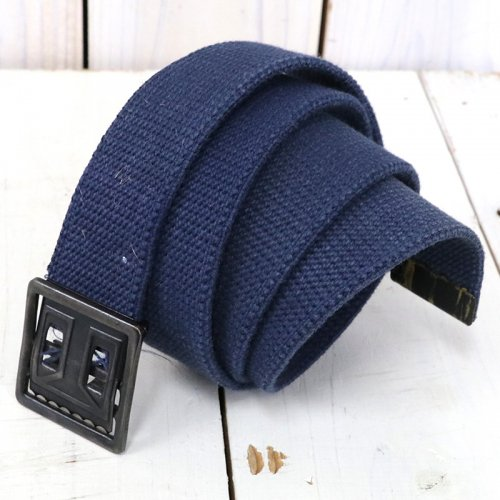 MILITARY USED『U.S.NAVY WEAVING BELT』(NAVY)