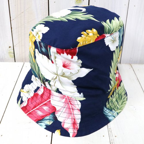 ENGINEERED GARMENTS『Bucket Hat-Hawaiian Floral Microfiber』