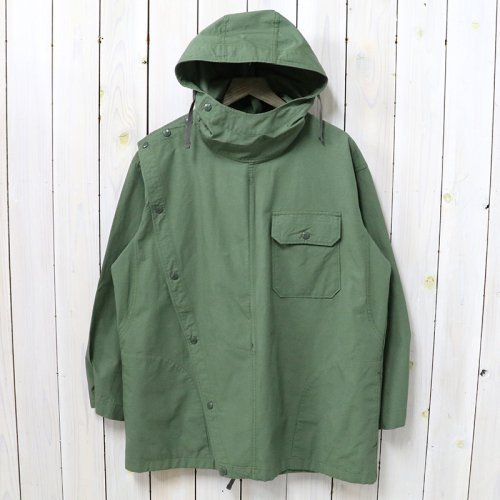 ENGINEERED GARMENTS『Sonor Shirt Jacket-Cotton Ripstop』(Olive)