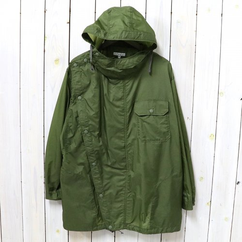 ENGINEERED GARMENTS『Sonor Shirt Jacket-Nylon Micro Ripstop』(Olive)