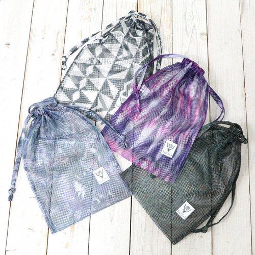 SOUTH2 WEST8『String Bag-Poly Heavyweight Mesh/Print』
