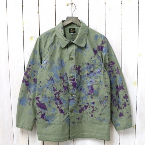 Needles『D.N.Coverall-Back Sateen/Paint』