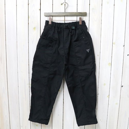 SOUTH2 WEST8『Belted Center Seam Pant-Poly Gabardine』(Black)