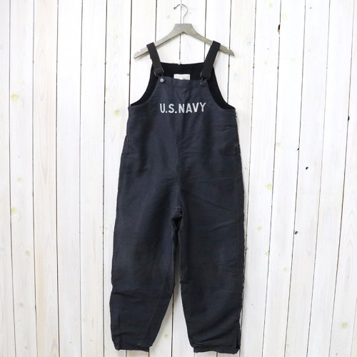 MILITARY USED『U.S.NAVY DECK OVERALLS』(NAVY)