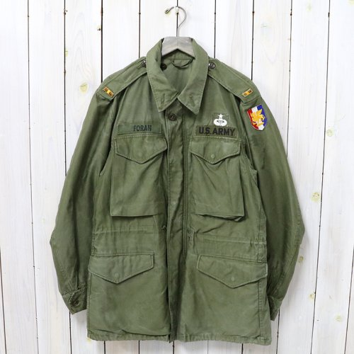 MILITARY USED『M-51 FIELD JACKET/パッチ付』