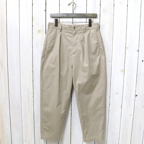 ENGINEERED GARMENTS『Carlyle Pant-High Count Twill』(Khaki)
