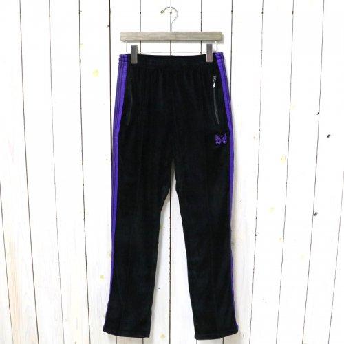 Needles『Narrow Track Pant-C/Pe Velour』(Black)