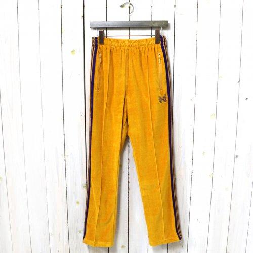 Needles『Narrow Track Pant-C/Pe Velour』(Mustard)