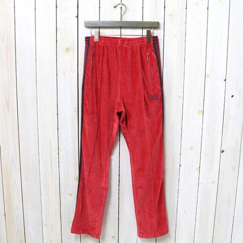 Needles『Narrow Track Pant-C/Pe Velour』(Pink)