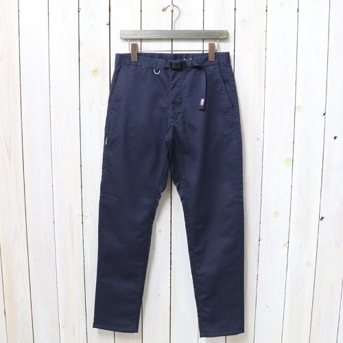 THE NORTH FACE PURPLE LABEL『Stretch Twill Tapered Pants』(Vintage Navy)