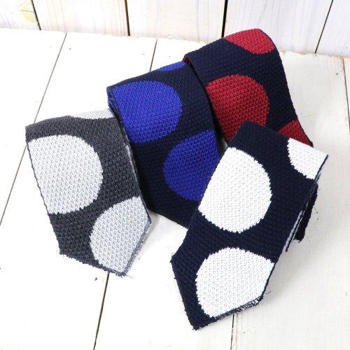 ENGINEERED GARMENTS『Knit Tie-Polka Dot』