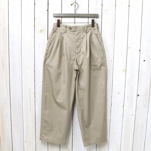 ENGINEERED GARMENTS『Emerson Pant-High Count Twill』(Khaki)