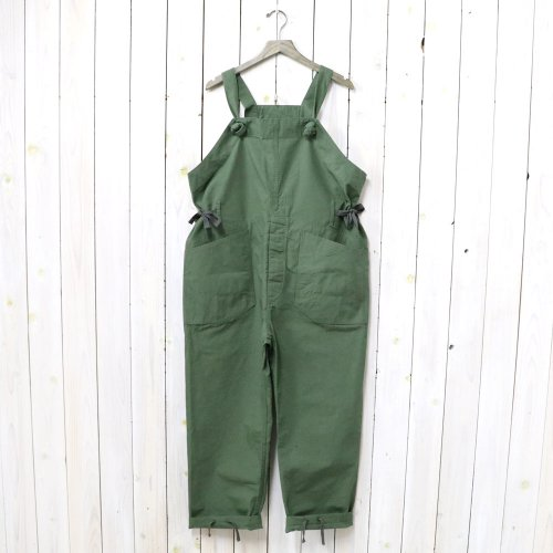 ENGINEERED GARMENTS『Overalls-Cotton Ripstop』(Olive)
