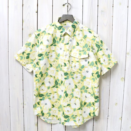ENGINEERED GARMENTS『Popover BD Shirt-Floral Print』(Yellow)