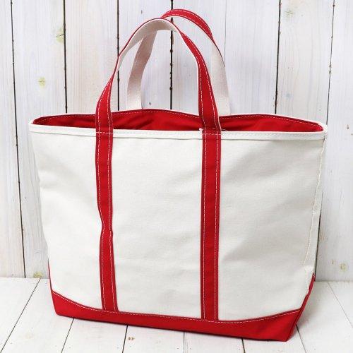 L.L.Bean『Boat & Tote Bag-Zip Top(Large)』(Red)