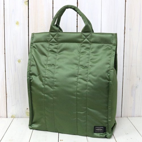 Kaptain Sunshine『Standing Tote Made by PORTER』(Olive)