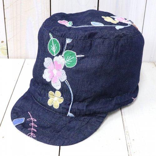 ENGINEERED GARMENTS『FM Cap-Denim Floral Embroidery』
