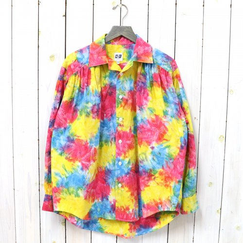 AiE『Painter Shirt-Abstract Batik』(Rainbow)