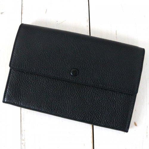 hobo『Shrink Leather Long Wallet』(Black)