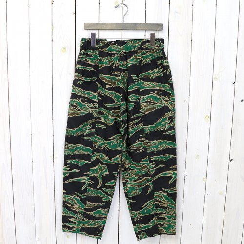 SOUTH2 WEST8『Army String Pant-Printed Flannel/Camouflage』(Tiger Camo)