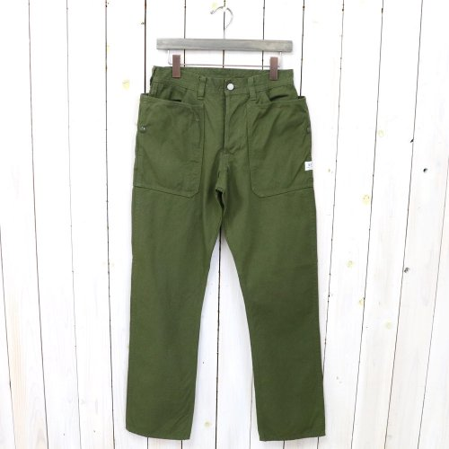 SASSAFRAS『FALL LEAF PANTS(CANVAS)』(OLIVE)