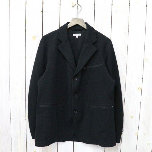 ENGINEERED GARMENTS『Leisure Jacket-Diamond Poly Knit』(Black)