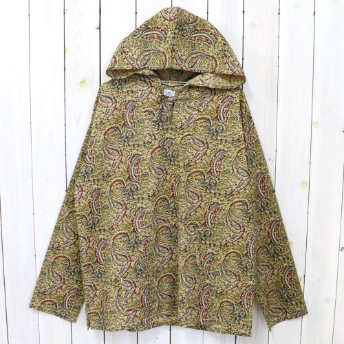 SOUTH2 WEST8『Mexican Parka-Printed Flannel/Paisley』(Olive)