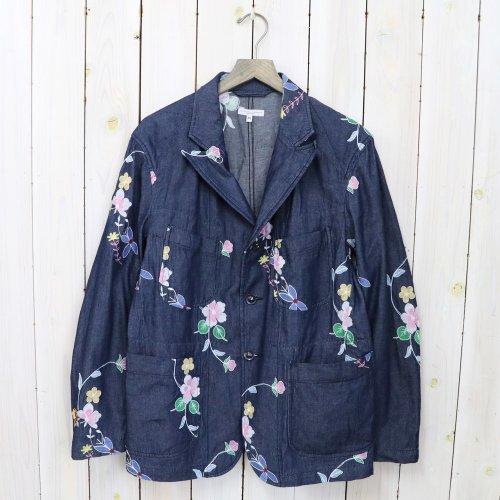 ENGINEERED GARMENTS『Bedford Jacket-Denim Floral Embroidery』