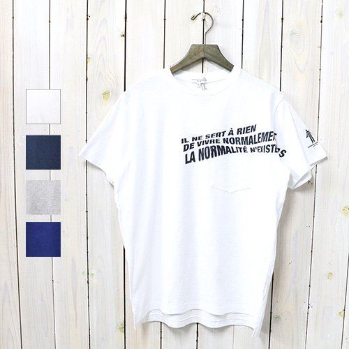 ENGINEERED GARMENTS『Printed Cross Crew Neck T-shirt-Normal』