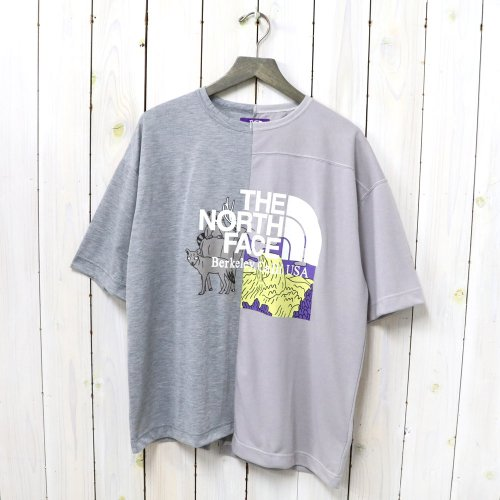 THE NORTH FACE PURPLE LABEL『Crazy H/S Logo Tee』(Mix Gray/Gray)
