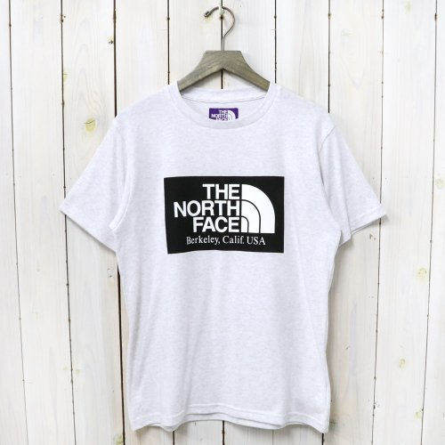THE NORTH FACE PURPLE LABEL『H/S Logo Tee』(Light Gray)