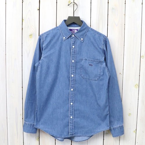 THE NORTH FACE PURPLE LABEL『Light Denim B.D Shirt』(Indigo Bleach)