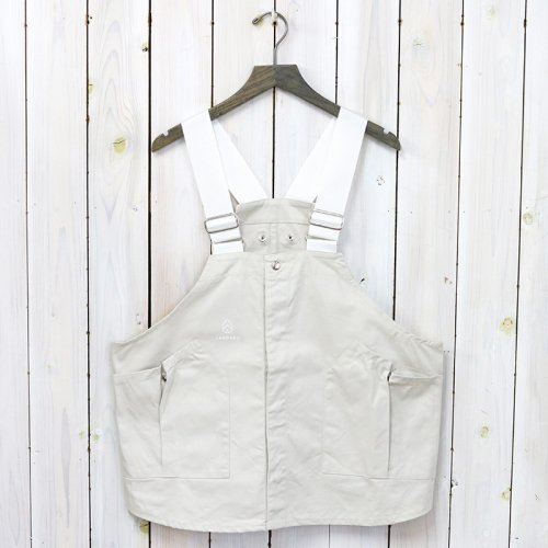hobo『Cotton Twill Vest by LAND & B.C.』(Natural)