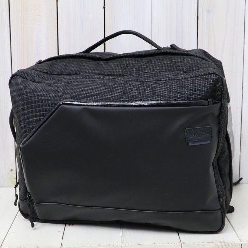BAGJACK『3Way Traveller SOC-S』(Black/Grid)