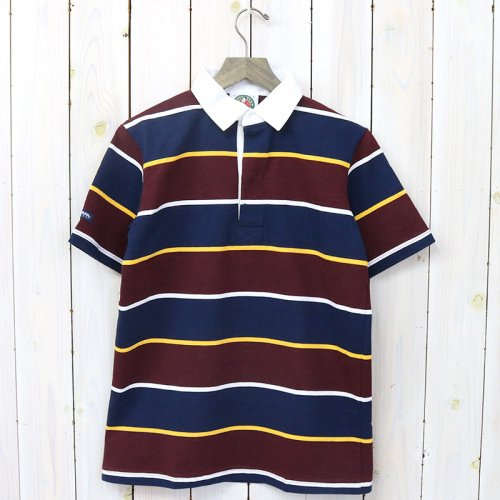 BARBARIAN『LIGHT WEIGHT RUGBY SHIRTS S/S』(NAVY/GOLD/HARVARD/WHITE)