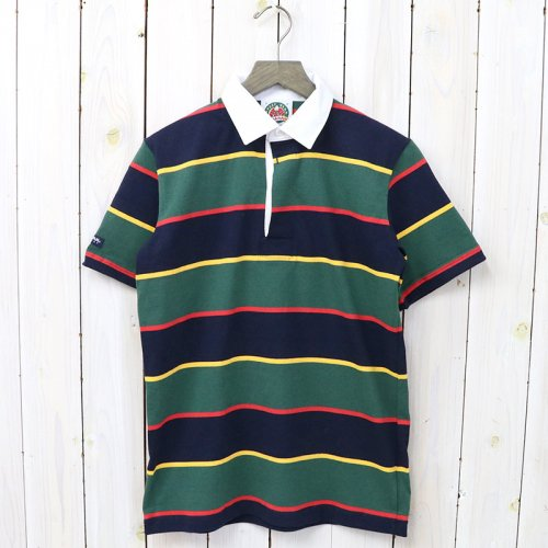 BARBARIAN『LIGHT WEIGHT RUGBY SHIRTS S/S』(NAVY/GOLD/BOTTLE/RED)