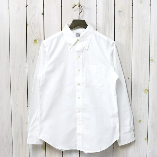 orSlow『BUTTON DOWN SHIRTS』(WHITE)