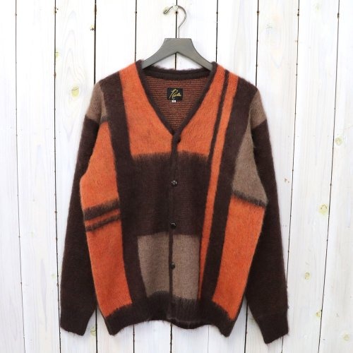 Needles『Mohair Cardigan-Mondrian』(Dk.Brown)