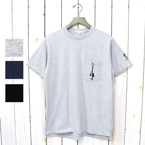 ENGINEERED GARMENTS『Printed Cross Crew Neck T-shirt-1G』