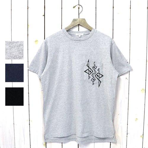 ENGINEERED GARMENTS『Printed Cross Crew Neck T-shirt-4G』