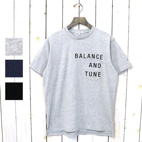 ENGINEERED GARMENTS『Printed Cross Crew Neck T-shirt-Balance』
