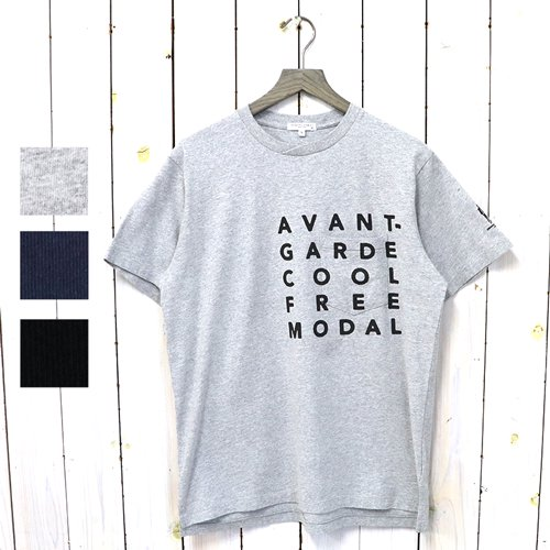ENGINEERED GARMENTS『Printed Cross Crew Neck T-shirt-Avannt』