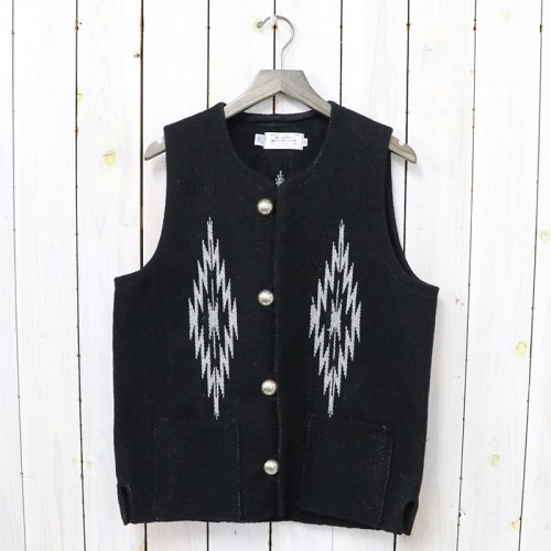 TRUJILLO'S『Chimayo Vest』(Black)