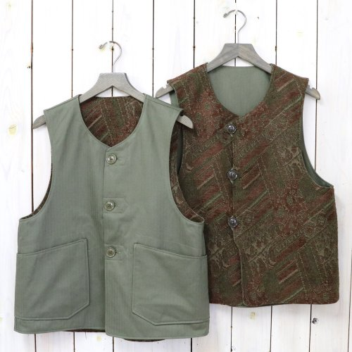 ENGINEERED GARMENTS『Over Vest-HB Twill』(Olive)