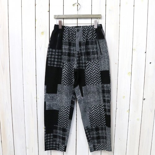 ENGINEERED GARMENTS『Jog Pant-Knit Patchwork HB』